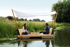 build a raft.  a place to relax