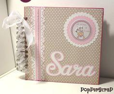 PopPerScraP: Álbum bebe Dayka niña