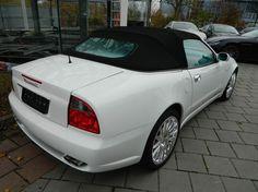 #Maserati #Cabrio #Louis Vuitton  * Kraftstoffverbrauch und Emissionen: Maserati GranSport: Verbrauch: kombiniert: 17,5l/100 km; innerorts: 26,0 l/100 km; außerorts: 12,5 l/100 km; CO2-Emissionen (kombiniert): 400 g/km; Effizienzklasse: