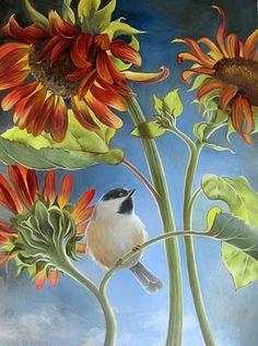 Jean Bradbury chickadee