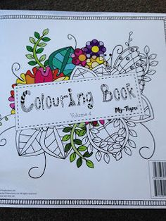 carley's creations: Brand New colouring My Thyme 4