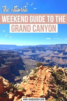 Grand Canyon National Park is a must-see destination! It's one of those rare places that actually looks just as beautiful as it does on Instagram. Check out my Grand Canyon travel guide to plan an epic weekend trip and check out the best hikes, best viewpoints and things to do in the area!   US Travel | National Park Travel | Grand Canyon Itinerary | Grand Canyon Travel Guide Trip To Grand Canyon, Grand Canyon National Park, National Parks, Usa Travel Guide, Travel Usa, Travel Guides, Travel Tips, Us Road Trip, Arizona Travel