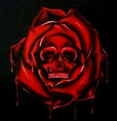 Skull rose