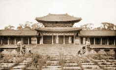 Gyeongbok Palace Inner Gate seen from the Throne Hall 경복궁(景福宮)의 어제와 오늘