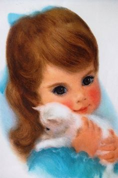 had the seasons set of these Northern tissue girls on my bedroom wall as a child :-)