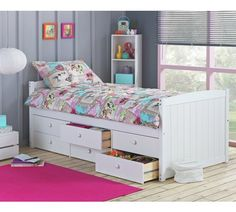 Buy Collection Lennox 6 Drawer Cabin Bed - White at Argos.co.uk, visit Argos.co.uk to shop online for Children's beds, Children's furniture, Home and garden