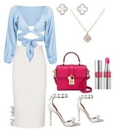 """Classy"" by ms1-ltu on Polyvore featuring Roland Mouret, Dolce&Gabbana, Alaïa and Yves Saint Laurent"