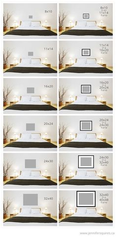 art sizes above bed Art Size for Above the Bed:                                                                                                                                                     More