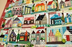 Tokyo Quilt Festival - house quilt by alissa