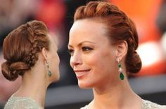 Hair Oscars: Winning hair trends from Pony Club to Ballerina Buns Oscar Hairstyles, Old Hairstyles, Curled Hairstyles, Summer Hairstyles, Pretty Hairstyles, Wedding Hairstyles, Hairdos, Oscars, Runway Hair