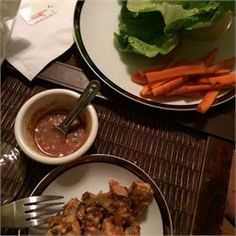 My Thai Chicken Wraps