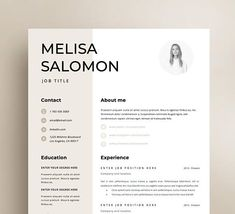 157 best Creative and professional Resume Templates images on ...