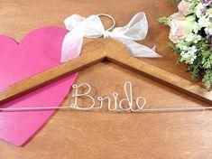 Bridal Hangers - Wedding Dress Hangers - Bridal Accessories - Bride Hanger - Wedding Hangers - Wedding Photo Props - Bridal Dress Hanger