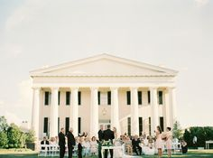 Berry Hill wedding, featured on Style Me Pretty
