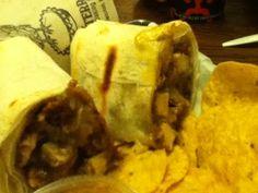 Chicken Mole Burrito-Alterra Coffee