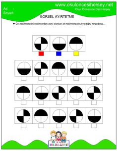 Teacher Worksheets, Worksheets For Kids, Kindergarten Worksheets, Adhd Activities, Therapy Activities, Learning Through Play, Kids Learning, Visual Perception Activities, Body Preschool