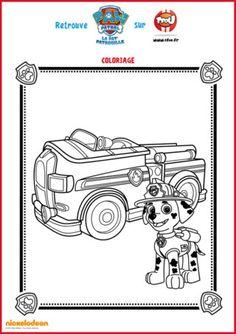Qu'il est beau le camion de pompier de Marcus. Mais il lui manque un peu de couleur ! A toi de colorier Marcus et son camion de pompier pour lui redonner de l'éclat. Imprime vite gratuitement tous les coloriages de Marcus de la Pat Patrouille sur TFou.fr.