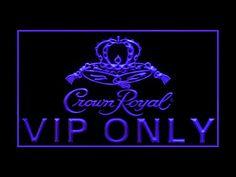 Crown Royal Whiskey VIP Only Decor LED Light Sign P   eBay