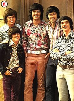 The Osmond Brothers--okay...make fun if you will, but I can't tell you how much I loved these guys growing up and how many times I saw them, and got to meet them.