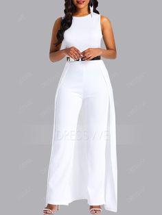 African Fashion Full Length Plain Slim Women's Jumpsuit(No Belt) Look Fashion, Fashion Outfits, Womens Fashion, Fashion Trends, Fall Fashion, Casual Outfits, Asos Jumpsuit, Gold Jumpsuit, Petite Jumpsuit