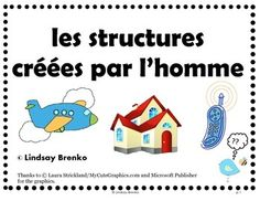 Teach Gr 1 unit: a story to introduce Man-Made Structures