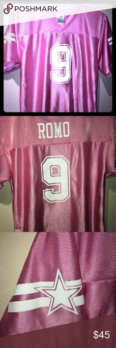 Image result for jessica simpson pink tony romo shirt