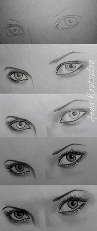 Eyes [ Tutorial ] by annakoutsidou on deviantART
