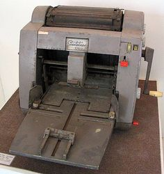 Gestetner by LauraEss, via Flickr  Remember the methylated spirits smell of the stencils?