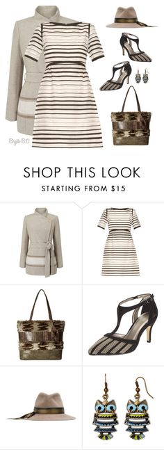 """Fall Stripes"" by birgitte-b-d ❤ liked on Polyvore featuring Jacques Vert, Goat, Steven, John Lewis, Lola and Decree"