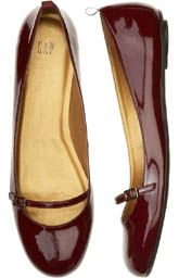 Gap Patent Leather Mary Jane Flats