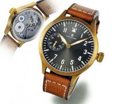 Steinhart Nav B-Uhr 44 handwinding, bronze Pilot Watch