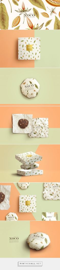 XOCO - mexican chocolate branding