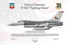 General Dynamics F-16C Fighting Falcon, 138th Fighter Wing, Oklahoma Air National Guard