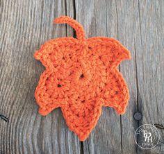 Fall Leaves Free Crochet Pattern