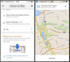 Google Maps permitirá a los dispositivos de Android guardar mapas si conexión y un nuevo asistente de carril
