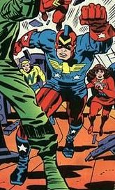 The Patriot by Jack Kirby.