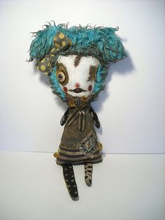 Amandine for Parlor Gallery-Art doll by Catherine Zacchino /Junker Jane