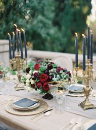 Moody, Romantic Outdoor Wedding Inspiration - Style Me Pretty