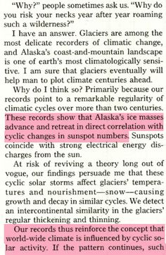 1967 : National Geographic – Solar Cycles Control Climate