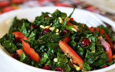 Tasty Raw Kale Salad