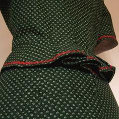 Vintage Dirndl Zweiteiler, grün, Gr.44
