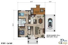 Plans - Plans Design Bungalow, Construction, Plan Design, Facade, Floor Plans, How To Plan, Architecture, David, Baseboard Heaters