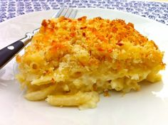 Classic Crispy Top Macaroni and Cheese — The Fountain Avenue Kitchen; For 1 # medium shell pasta increase flour to milk to cups, cheese to or 3 cups Baked Macaroni, Macaroni Cheese, Mac Cheese, Cheese Fruit, Crispy Mac And Cheese Recipe, Cheese Recipes, Cheese Fountain, Southern Recipes, Southern Food
