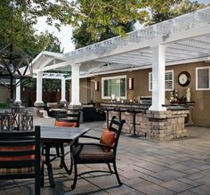 outdoor kitchen patio ideas white corner cabinets for 45 best kitchens images in 2019 cooking hardscape amp pictures design inspiration stone pergola
