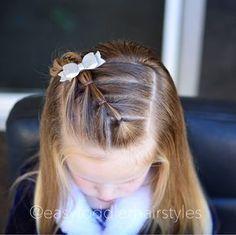 39 ideas hair ideas for girls hairdos Easy Toddler Hairstyles, Baby Girl Hairstyles, Princess Hairstyles, Pretty Hairstyles, Easy Hairstyles, Teenage Hairstyles, Girl Haircuts, Hairstyle Ideas, Updo Hairstyle