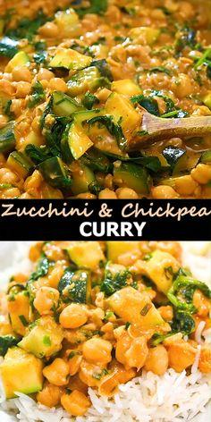Vegetarian Recipes Videos, Vegetarian Dinners, Curry Recipes, Indian Food Recipes, Vegan Recipes, Cooking Recipes, Health Food Recipes, Indian Snacks, Chickpea Curry