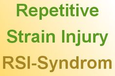 #Prävention gegen das Repetitive Strain Injury - #RSI-Syndrom (oft auch #Mausarm genannt)