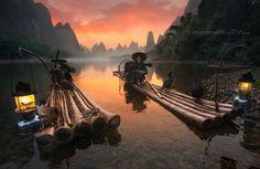 Traditional fishing 传统渔业 by Daniel Metz on 500px
