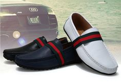 New Men comfy casual Moccasins slip on Loafer Driving leather boat Shoes #Other #DrivingMoccasins