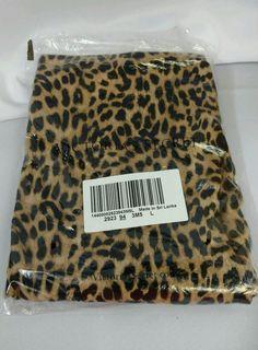 e113de128303 Pink by Victoria s Secret Leopard Leggings sz Large L  VictoriasSecret  Leopard Leggings